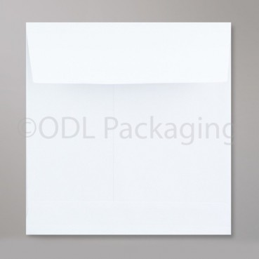 White Gusset Envelopes 220 x 220 x 25mm Square 120gsm