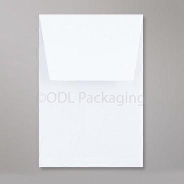 C6 White Gusset Envelopes 162 x 114 x 25mm 120gsm