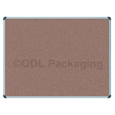 Cork Covered Notice Pin Boards Aluminium Frame 900 x 600mm