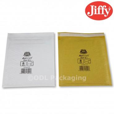 JL2 Jiffy Airkraft Padded Envelopes/Bags