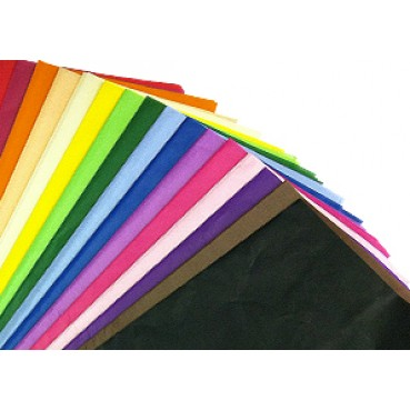"Acid Free Coloured Tissue Paper 500mm x 750mm (20"" x 30"") 18GSM"