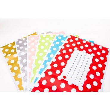 "Printed Polka Dot Mailing Bags 10"" x 14"" 250mm x 350mm"