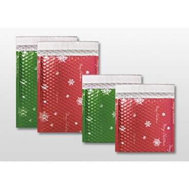 Christmas Bubble Mailing Bags