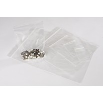 "9"" x 12.75""  (228mm x 320mm) Clear Grip Seal Bags"