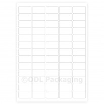 White Address Labels 65 per A4 Sheet Laser / Inkjet