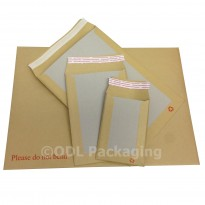 "C5+ A5+ Board Backed Envelopes Manilla 9.5"" X 7"""