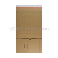 A5 Size Brown Book Wrap E Flute 217 x 155 x 60mm