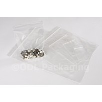 "3"" x 3.25"" (75mm x 80mm) Clear Grip Seal Bags"