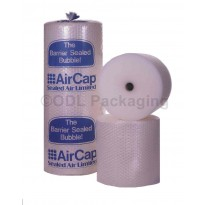 Rolls of Sealed Air Small Bubble Wrap Air Cap 750mm x 60M