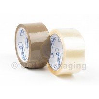 "Worthminster 2"" Brown And Clear General Purpose Packaging Tape"